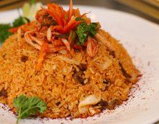 Cơm Bò Chiên Kim Chi